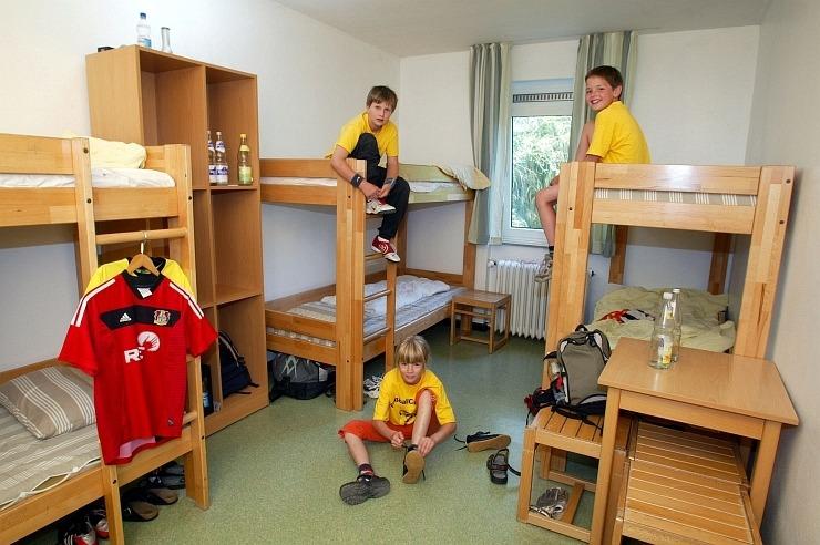 Mehrbettzimmer der Jugendherberge Wipperfürth