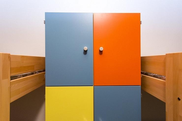Mehrbettzimmer der Jugendherberge Brüggen