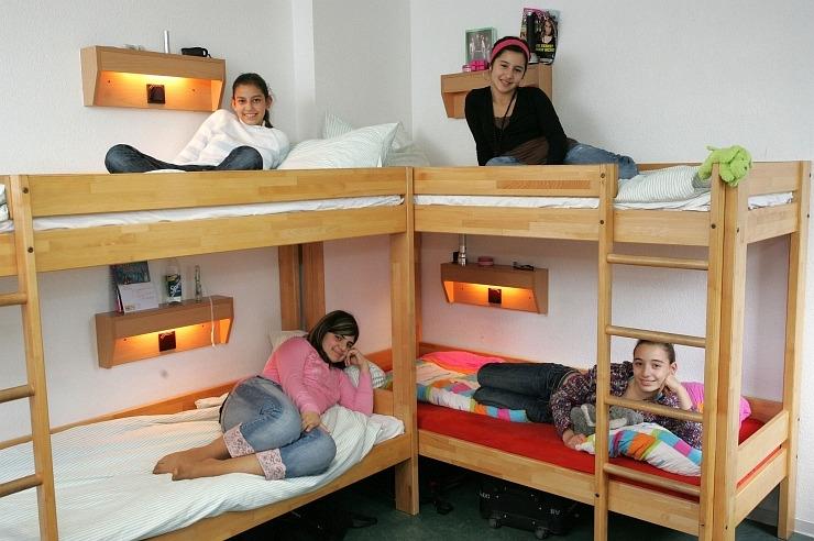 Mehrbettzimmer der Jugendherberge Blankenheim