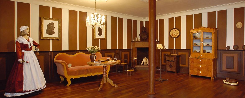 Schokoladenzimmer im Hallorenmuseum