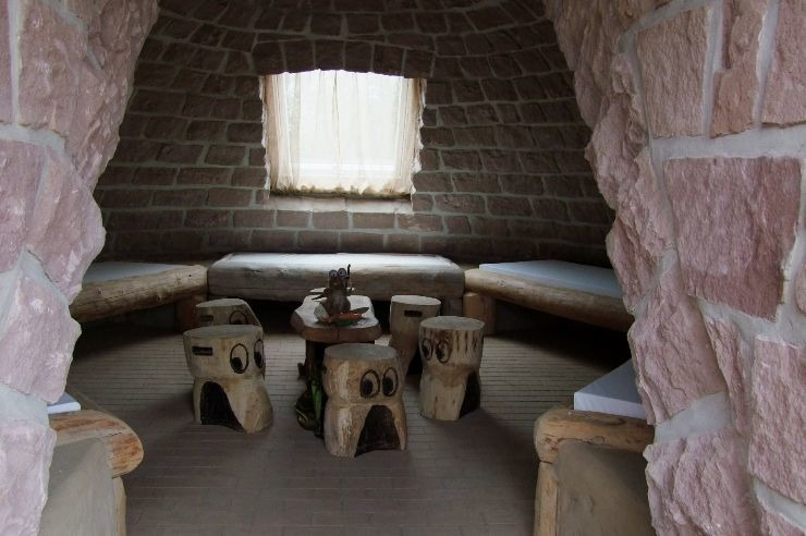 Die Erhöhle von Innen