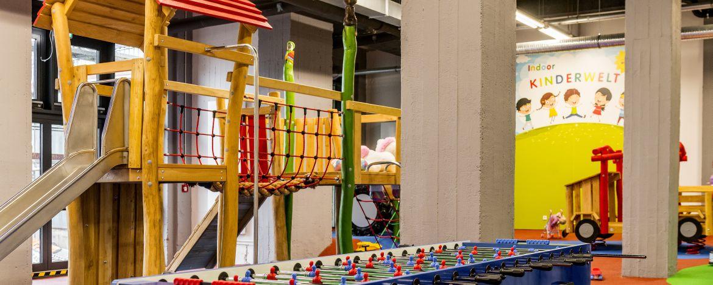 Kinder-Indoorwelt der Jugendherberge Pirmasens