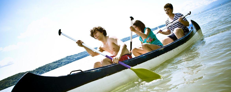 Kanufahrt auf dem Starnberger See