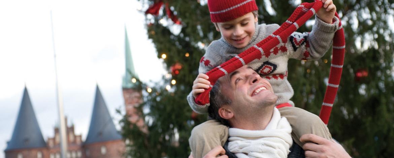 Familienurlaub Lübeck - Vor dem Burgtor