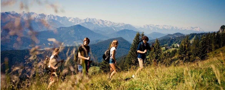 Klassenfahrt mit Wandern Allgäu Oberstdorf