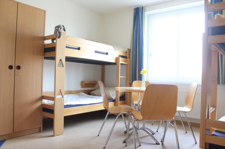 Zimmer der Jugendherberge Glückstadt