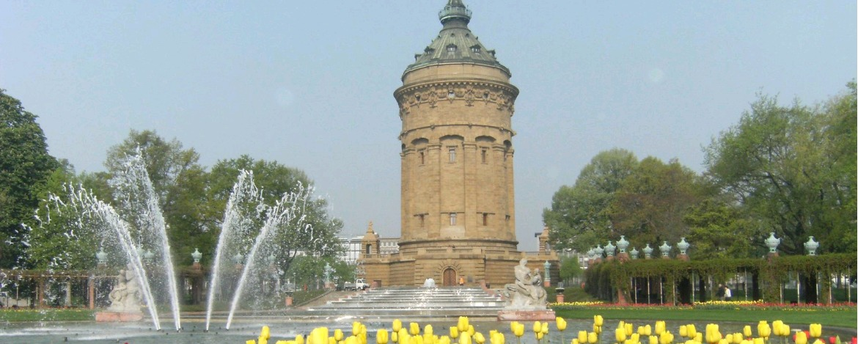 Wasserturm Rosengarten