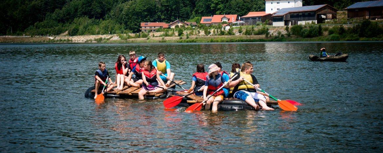 Klassenfahrt an den See
