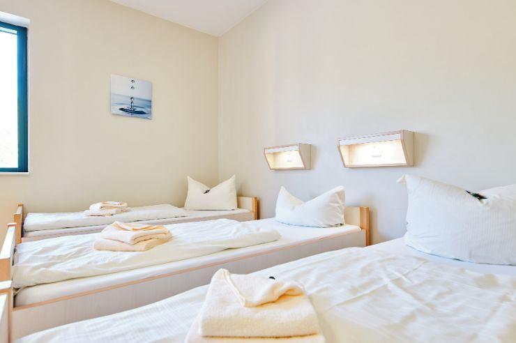 Zimmerbeispiel für ein Mehrbettzimmer