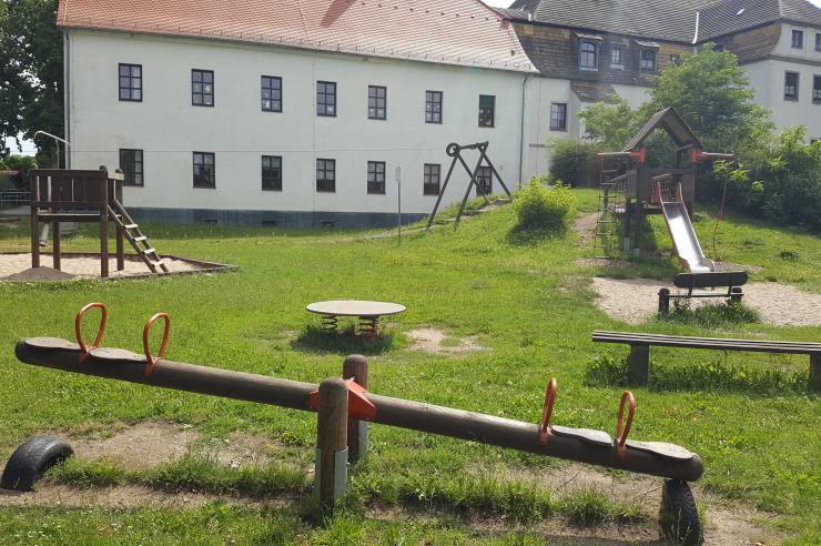 Spielplatz vor der Jugendherberge