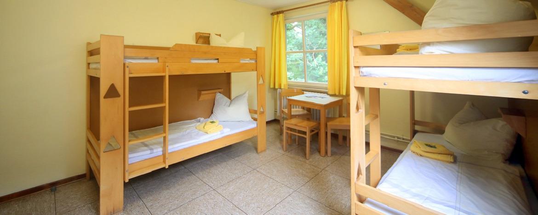 Mehrbettzimmer Jugendherberge Lauenburg