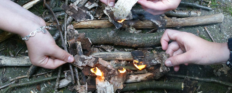 Umgang mit Feuer