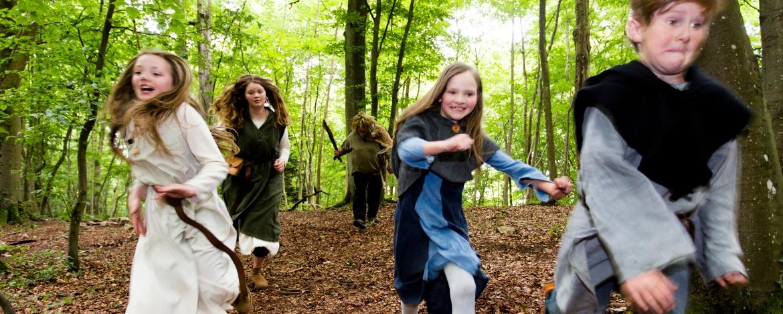 Magische Wald-Rallye