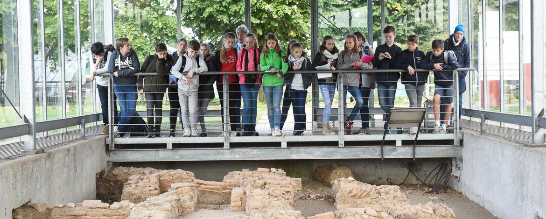 Besuch RömerMuseum