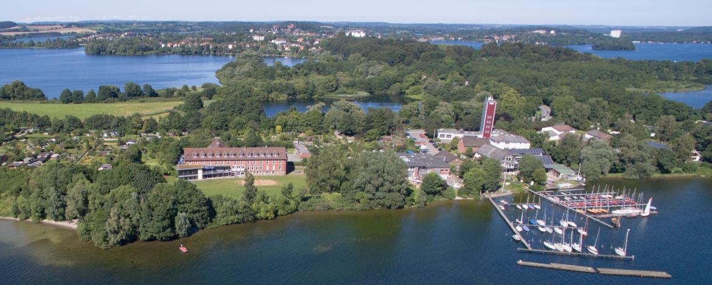 Luftbild Jugendherberge Plön am See