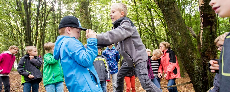 Kooperationstraining outdoor