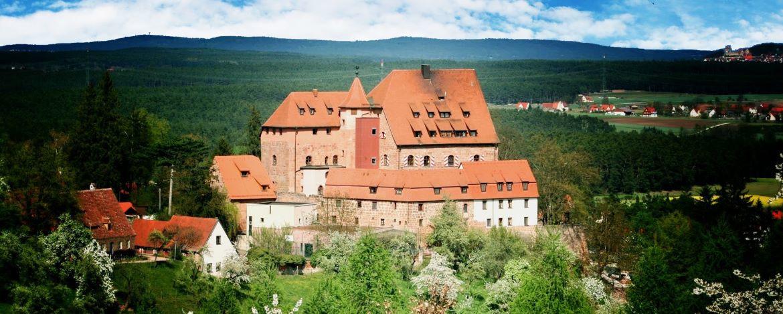 Klassenfahrt auf der Burg Wernfels