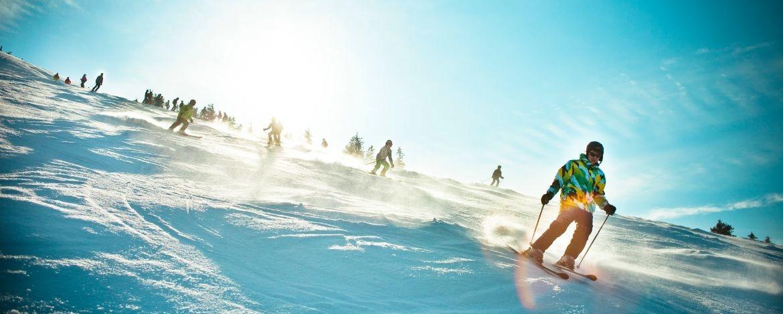 Skifreizeit mit der Familie