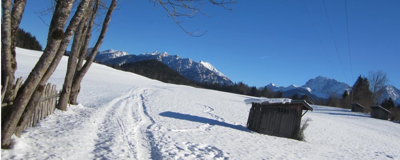 Faschingsurlaub in der Jugendherberge Mittenwald