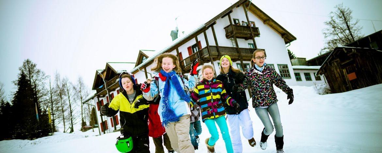 Familien-Silvesterurlaub im Schnee