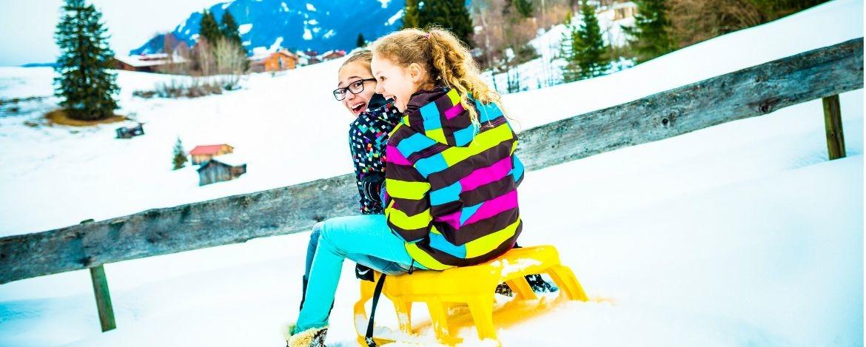 Neujahrsferien mit Kindern in Oberstdorf