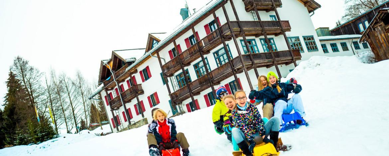 Winterurlaub mit Kindern in Oberstdorf