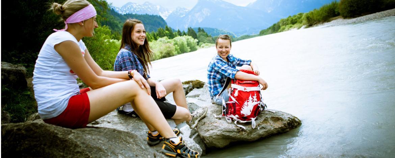 Ferienkurs Kajak für Jugendliche im Allgäu