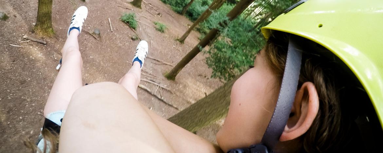 Outdoor-Kletterabenteuer