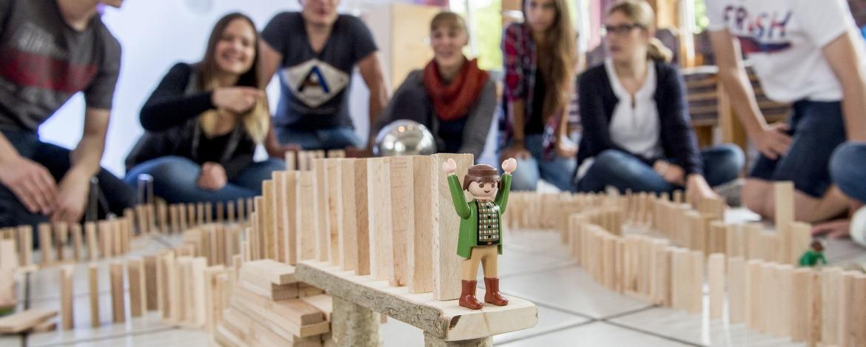 Teambuilding-Programm Jugendherberge Worms