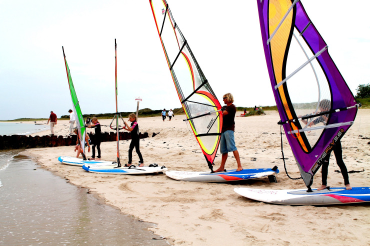 Surfkurs für Anfänger in Hörnum auf Sylt