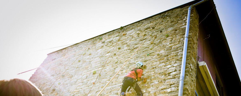 Klassenfahrt nach Oberstdorf mit Klettern