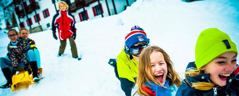 Klassenfahrt im Schnee und Skifahren Allgäu