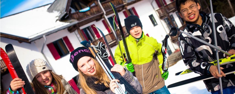 Klassenreise ins Hostel Oberstdorf im Winter