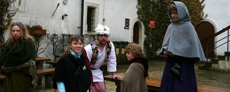 Ritter in der Burg Wildenstein