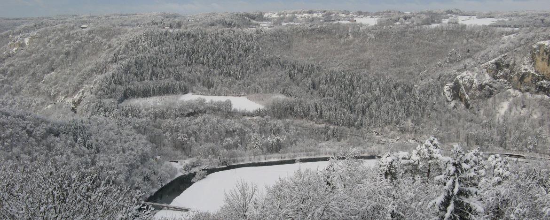 Donautal im Winter