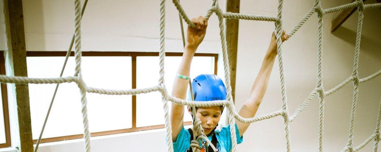 Klassenfahrt mit Kletterkurs