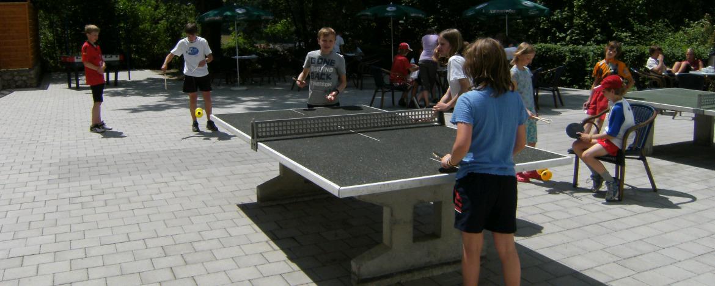Tischtennisspiel
