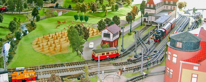 Modelleisenbahn in Wiehe