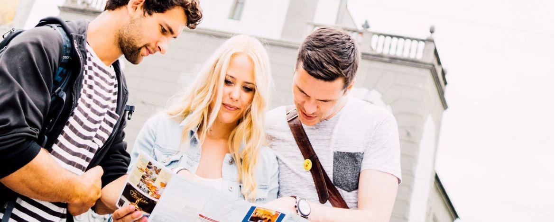 Studenten und Studentinnen in Augsburg