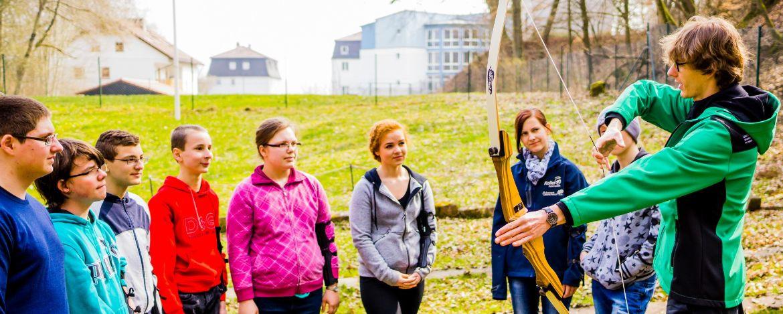 Klassenfahrt in die Jugendherberge mit Erlebnispädagogik