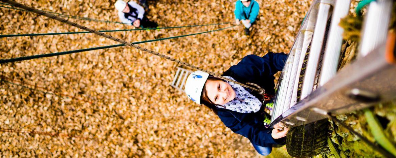 Klassenfahrt mit Klettern in Franken