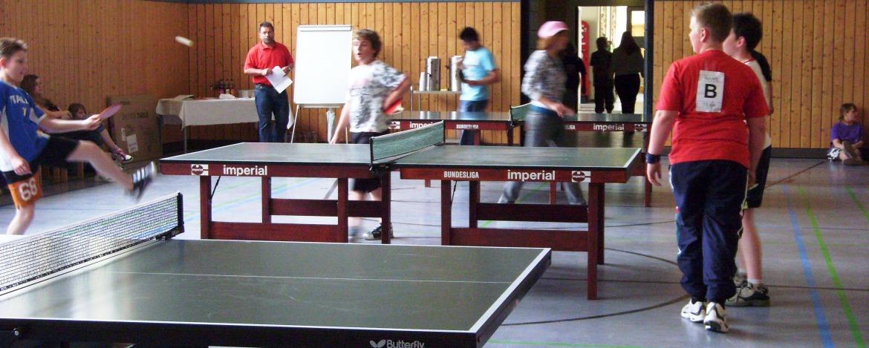 Tischtennis-Turnier