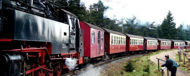 """mit der Harzer Schmalspurbahn nach """"Drei Annen Hohne"""""""