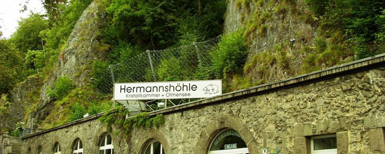Tropfsteinhöhle in Rübeland