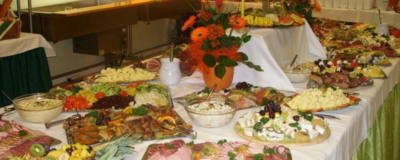 abwechslungsreiches  Silvesterbuffet