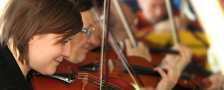 Geige spielen