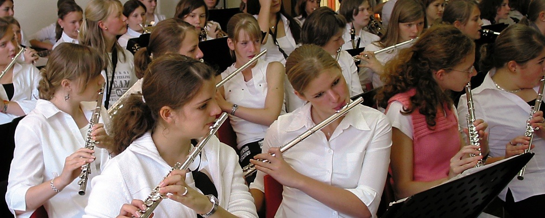 Blasorchesterprobe