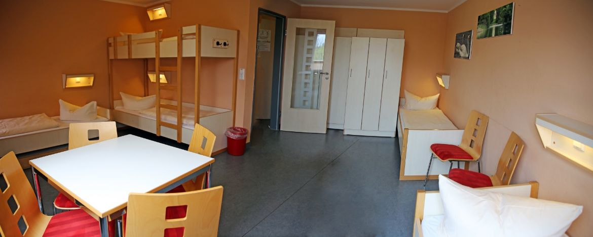 5-Bettzimmer in der Jugendherberge Wittenberg