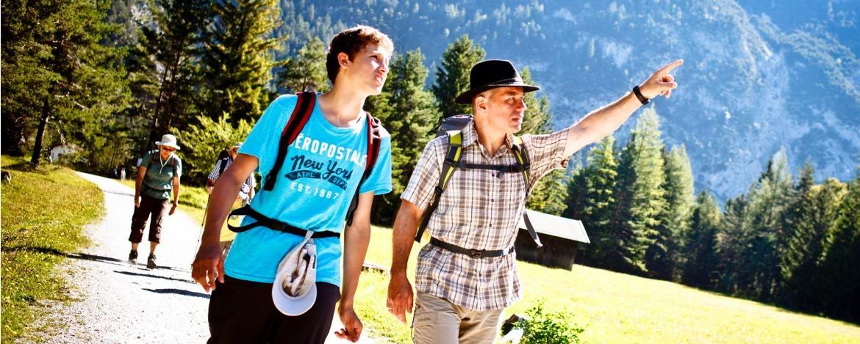 Wanderurlaub in der Jugendherberge Mittenwald