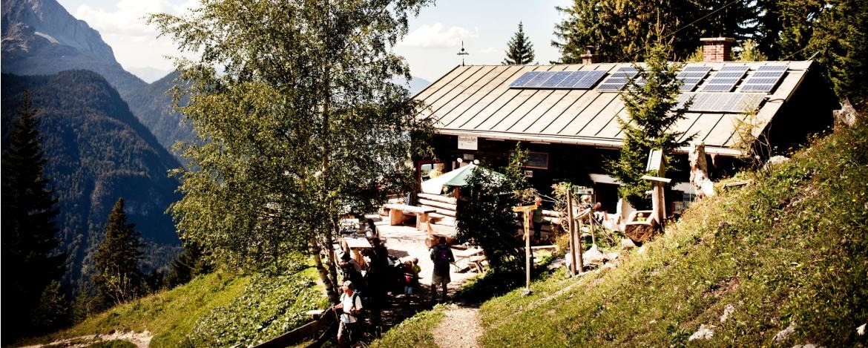 Familienurlaub mit Hüttenwanderung in Mittenwald